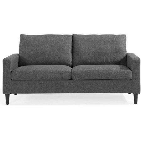 ver sofas no olx do es adirondack leather sofa mainstays 72 5 apartment woven fabric multiple colors walmart com