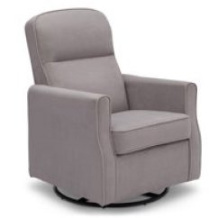 Best Chairs Geneva Glider White How To Make A Dining Room Chair Cover Gliders Rocking Walmart Com Product Image Delta Children Clair Slim Nursery Swivel Rocker