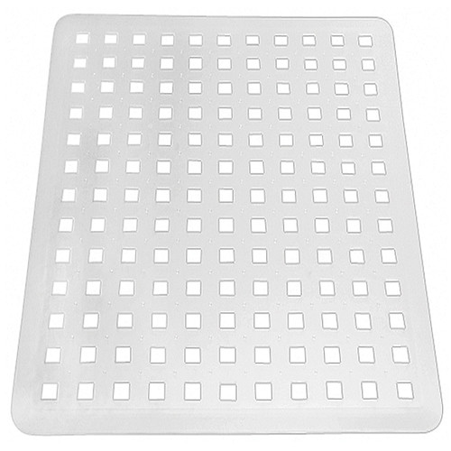 kitchen sink mats stainless steel outdoor interdesign euro protector mat large clear