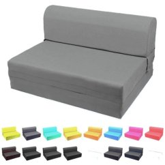 Single Sleeper Chair Conference Tables And Chairs Magshion Folding Foam Bed Sized Size 5x23x70 Inch Dark Gray Walmart Com