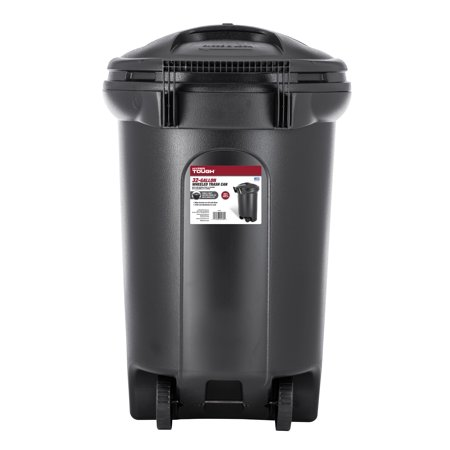 Hyper Tough 32 Gallon Wheeled Trash Can with Turn Lock