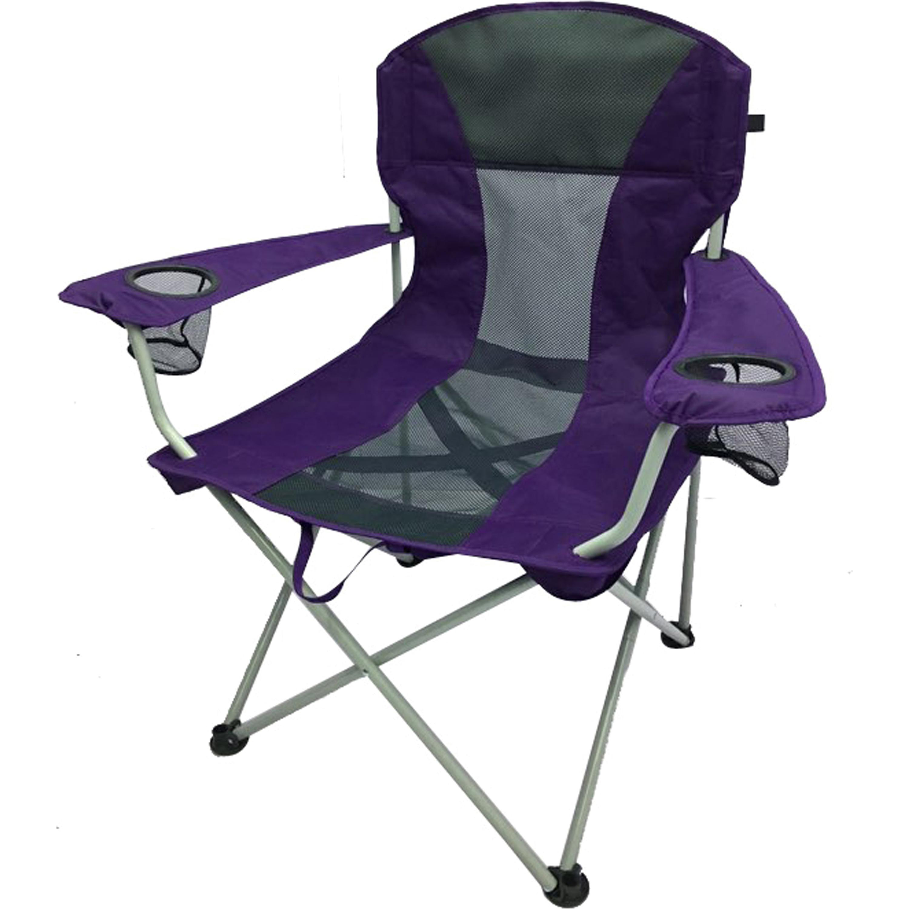 rocky oversized folding arm chair serta office reviews camping chairs ozark trail oversize mesh quad