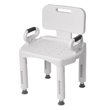 drive shower chair weight limit lillian august chairs medical premium series with back and arms walmart com