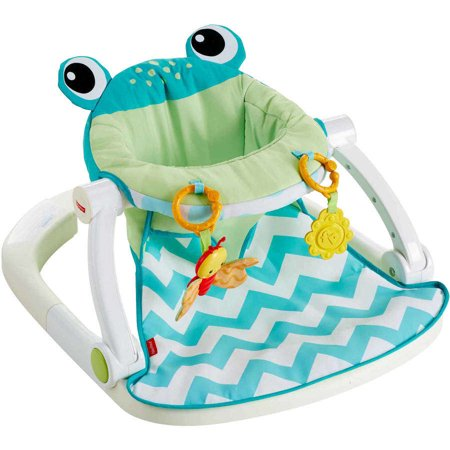 sit me up chair for babies hanging with stand dubai fisher price floor seat citrus frog walmart com