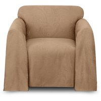 your chair covers inc reviews baseball folding tent walmart com product image belle maison alexandria arm cover