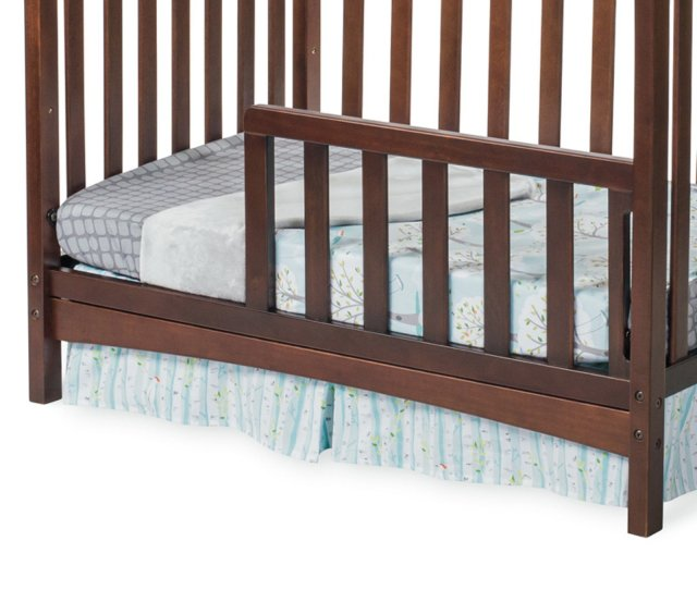 Child Craft Toddler Guard Rail For Ashton Mini Convertible Crib Select Cherry