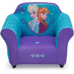 Frozen Flip Sofa Canada Cornell Bonded Leather Curved Sectional By Coaster Kids Sofas Disney Upholstered Chair With Sculpted Plastic Frame Delta Children