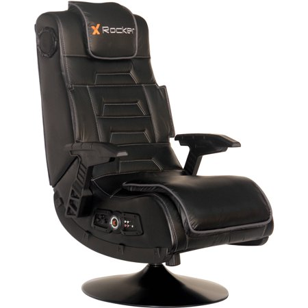 walmart game chairs x rocker chair cover rentals belleville pro series pedestal wireless gaming black 51396 com