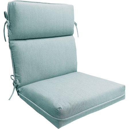 grey chair cushions c stand better homes and gardens spa 1 piece dining cushion walmart com