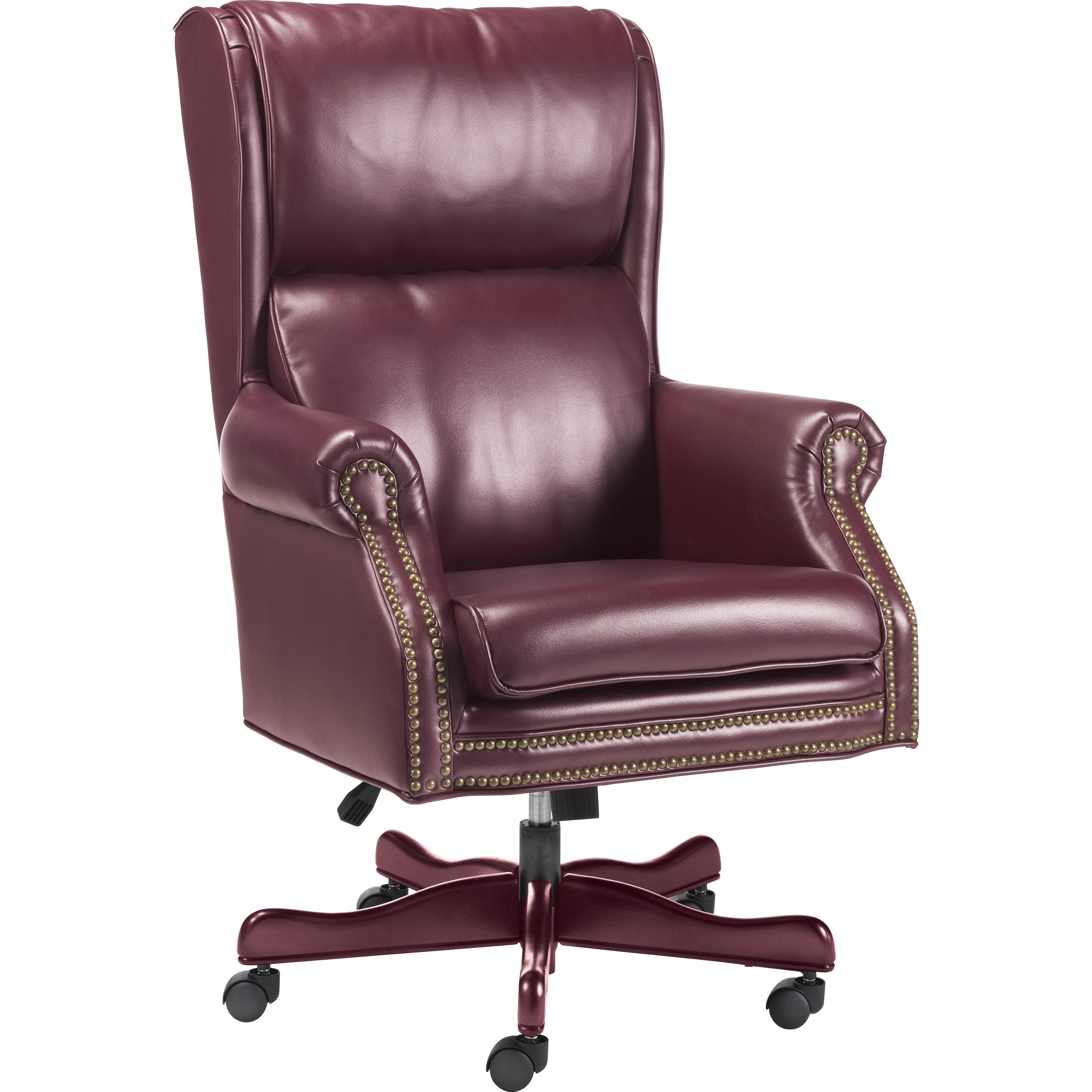 jerome's swivel chairs single couch chair cover executive office furniture lorell llr60602 traditional tilt 1 each