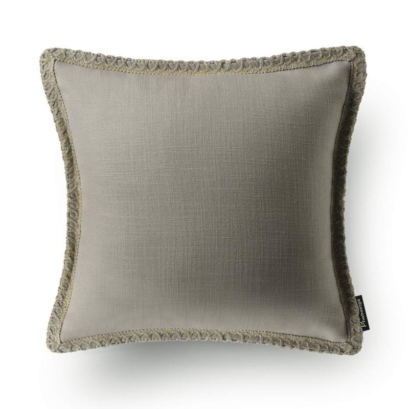 brown throw pillows