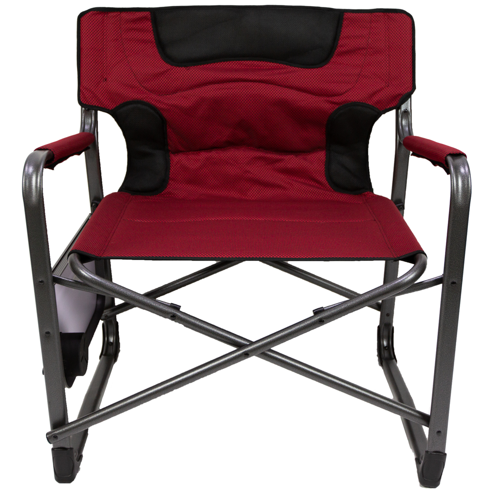 lewis and clark camping chairs 2 chair table set ozark trail xxl folding padded director with side red