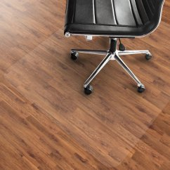 Chair Mat For Hardwood Floors Camping Chairs Heavy Duty Hard Floor Mats Office Marshal Pvc 36 X 48 Clear