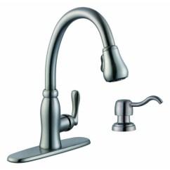 Pegasus Kitchen Faucet Space Saving Radiators Faucets Pavilion Single Handle With Soap Dispenser