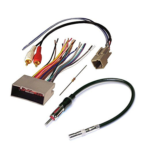 2001 ford focus zx3 radio wiring diagram 80cc bike motor stereo harness audiophile car cd player wire aftermarket install for select lincoln and