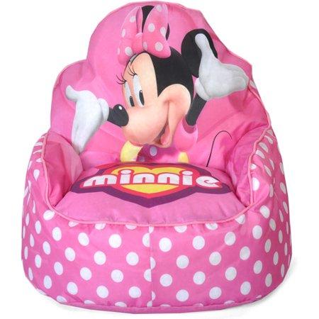 minnie mouse chair walmart metal chairs for sale toddler bean bag com