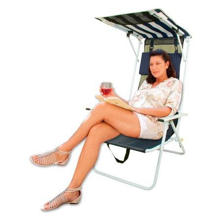 Quik Shade Beach Chair  Walmartcom