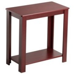 Cheap Side Tables For Living Room Olive Green Sofa Ideas End Walmart Com Product Image Yaheetech Espresso Chair Table Coffee Wooden Shelf Furnit