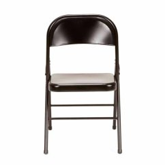 Folding Metal Yoga Chair Does Gym Really Work Mainstays Steel 4 Pack In Multiple Colors Walmart Com
