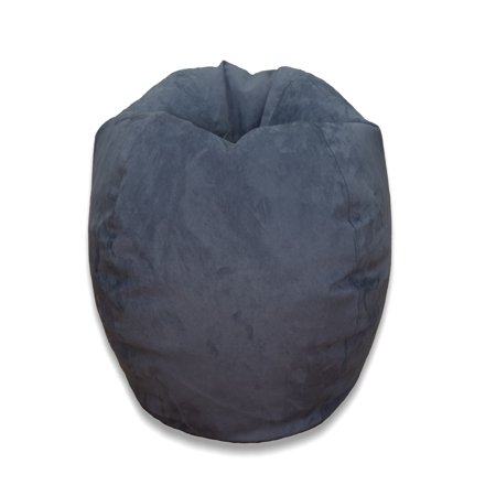 cool bean bag chairs steel chair and table large microsuede available in multiple colors walmart com