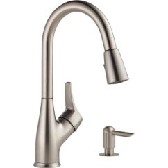Stainless Kitchen Faucet Hansgrohe Talis S Peerless Steel Pulldown Walmart Com