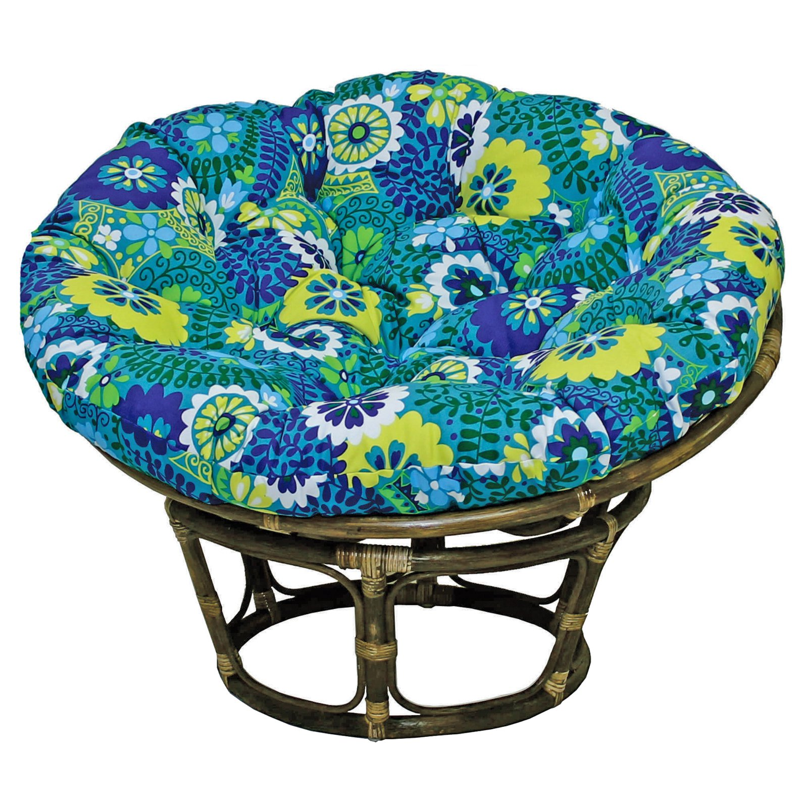 replacement papasan chair cushion kitchen covers cushions blazing needles outdoor print