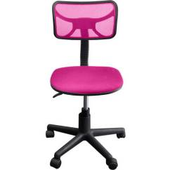 Desk Chair Pink Outdoor French Bistro Dining Chairs Urban Shop Swivel Mesh Multiple Colors