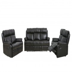 Accent Chair Recliner Mesh Support Loveseat Chaise Reclining Couch Sofa Leather Set Walmart Com