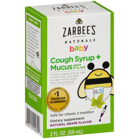 Zarbee's Naturals Baby Cough Syrup + Mucus Dietary ...