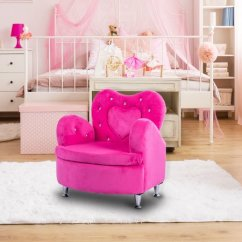 Soft Toddler Chairs Plastic Chair Covers Online India Gymax Rose Kids Sofa Armrest Couch Velvet Children S Furniture Walmart Com