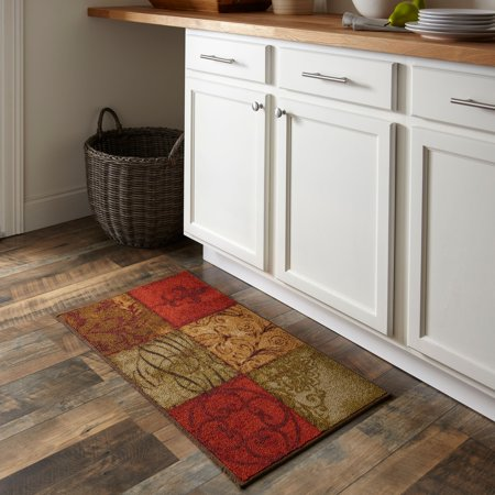 kitchen carpet slide out organizers cabinets mohawk home tuscany rug 34 x 20 walmart com