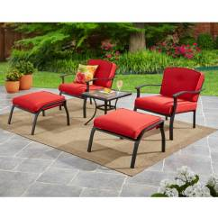 Comfy Outdoor Chair Chairs That Turn Into Beds Patio Furniture Walmart Com Mainstays