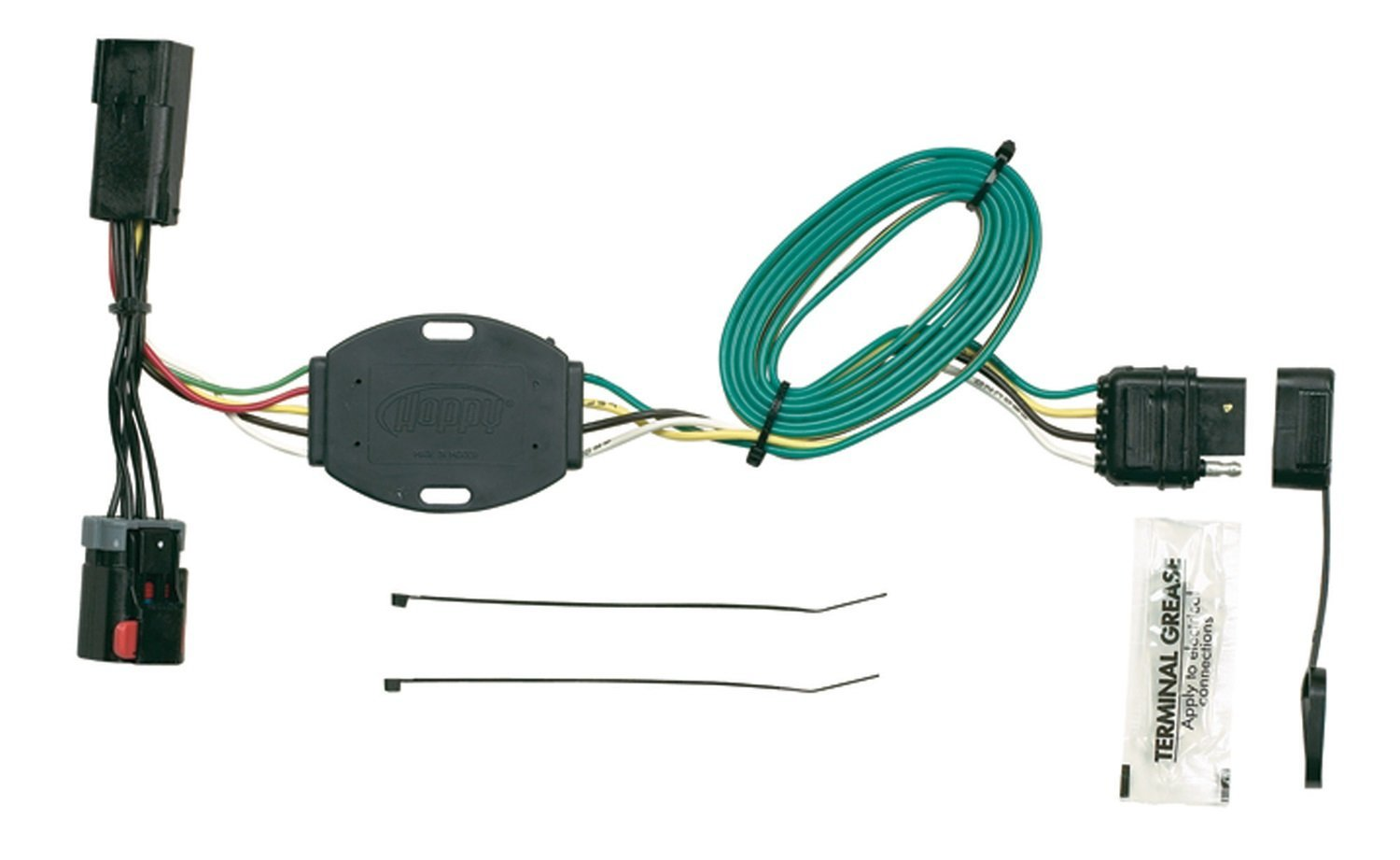 hopkins trailer wiring hopkins 42105 plug in simple vehicle to trailer wiring connector [ 1500 x 921 Pixel ]