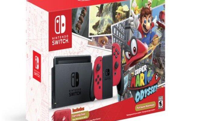 Nintendo Switch Super Mario Odyssey Edition Walmart