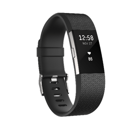 Fitbit Charge 2 Activity Tracker + Heart Rate - Large