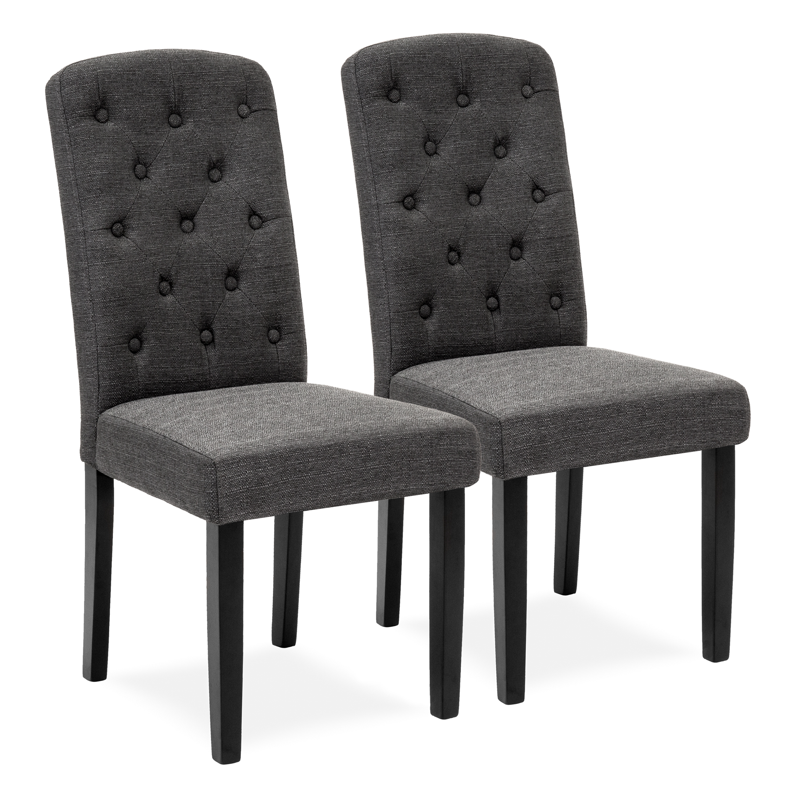 parsons chairs pride parts best choice products set of 2 tufted fabric dining home furniture for and