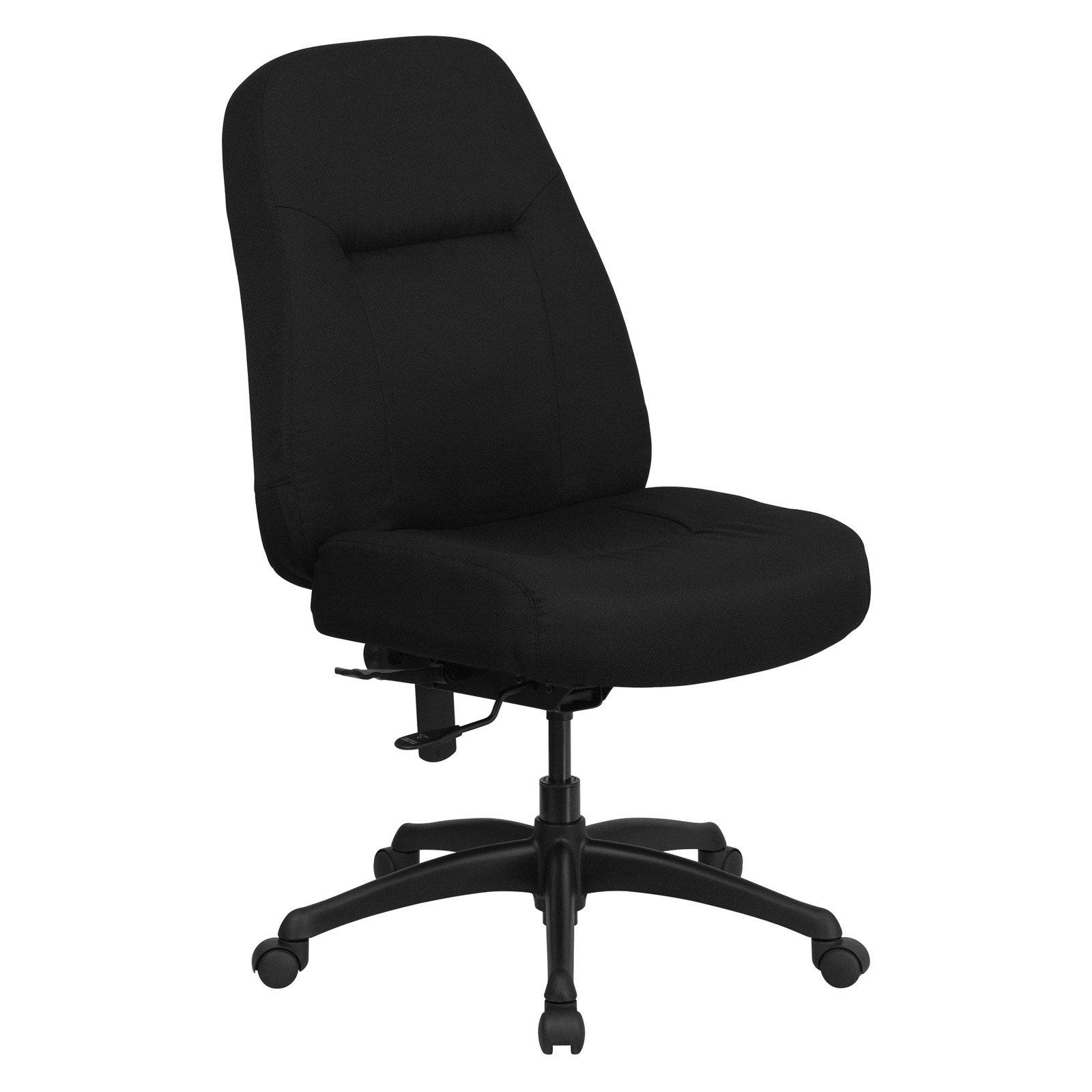 xl desk chair fruitwood folding chairs big tall office flash furniture hercules high back black