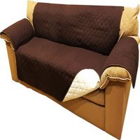 sofa coverings dogs old fashioned leather sofas slipcovers walmart com product image ablehome reversible microfiber cover chair throw pet dog kids furniture protector w hold down