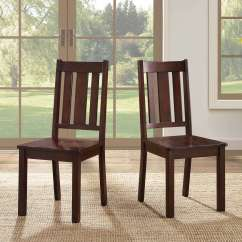 Wooden Chairs Images Special Needs Chair Better Homes And Gardens Bankston Dining Set Of 2 Mocha