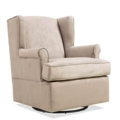 Revolving Easy Chair Banana Rocking Swivel Rockers Handy Living Frederick Glider Arm Khaki