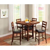 kitchen tables sets cabinets for less dining room walmart com product image better homes gardens dalton park 5 piece counter height set