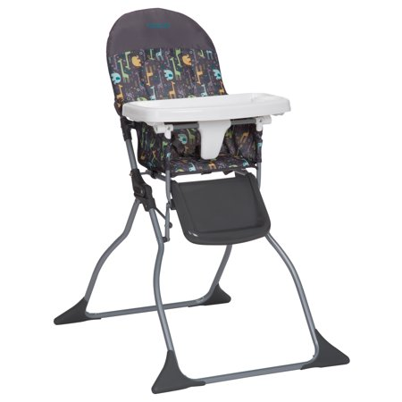 high folding chair vintage metal cosco simple fold full size with adjustable tray zuri walmart com