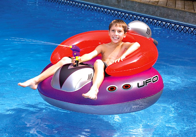 chair pool floats patio chairs with cushions floating new swimline 9078 swimming ufo squirter toy inflatable lounge float