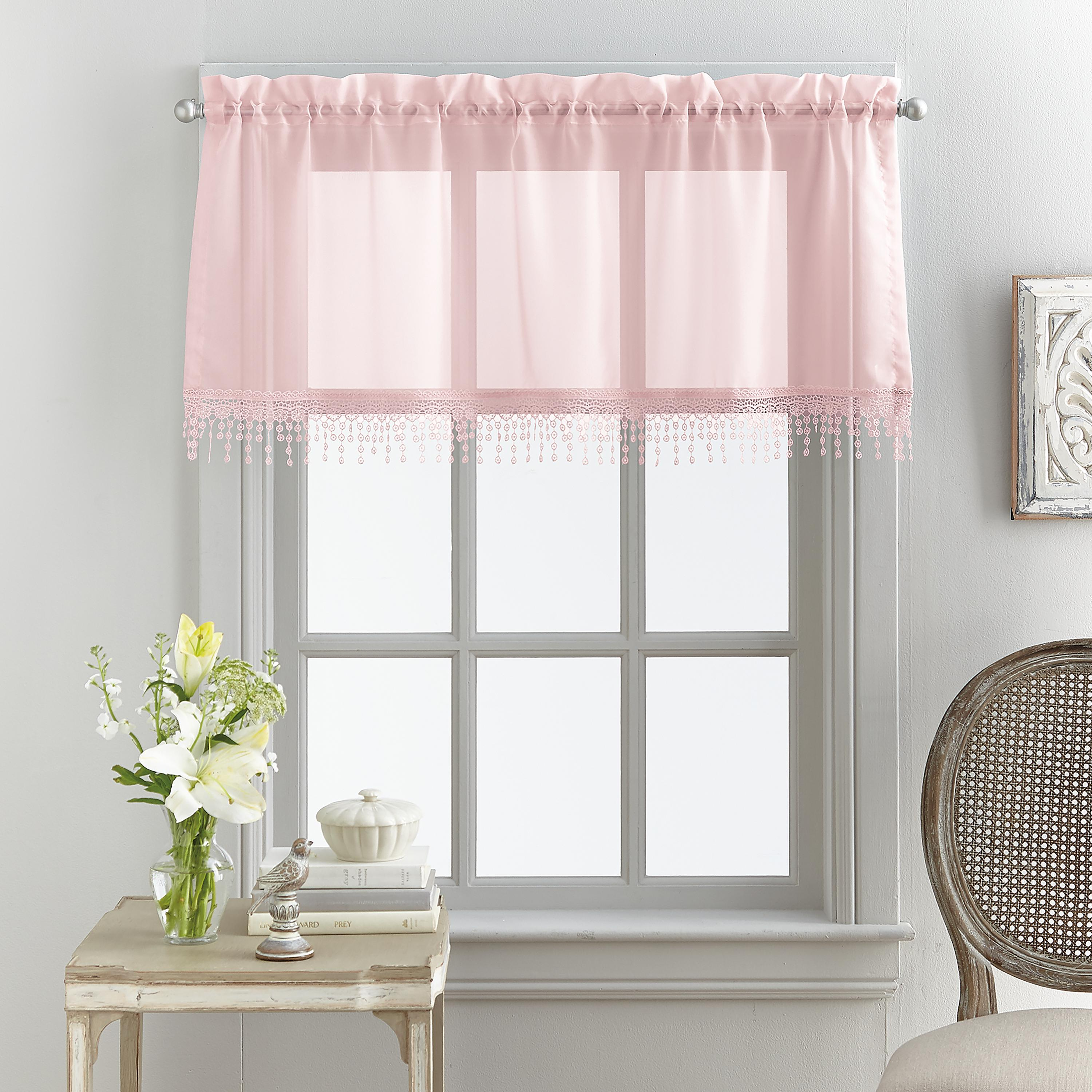 valance for living room old fashioned designs valances mainstays macrame tailored