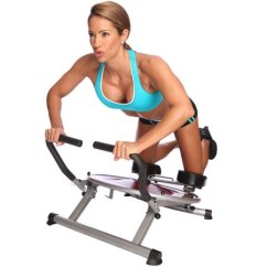 Gym Chair As Seen On Tv Toddler Desk And Set Ab Circle Pro Machine Dvd Included Core Home Exercise
