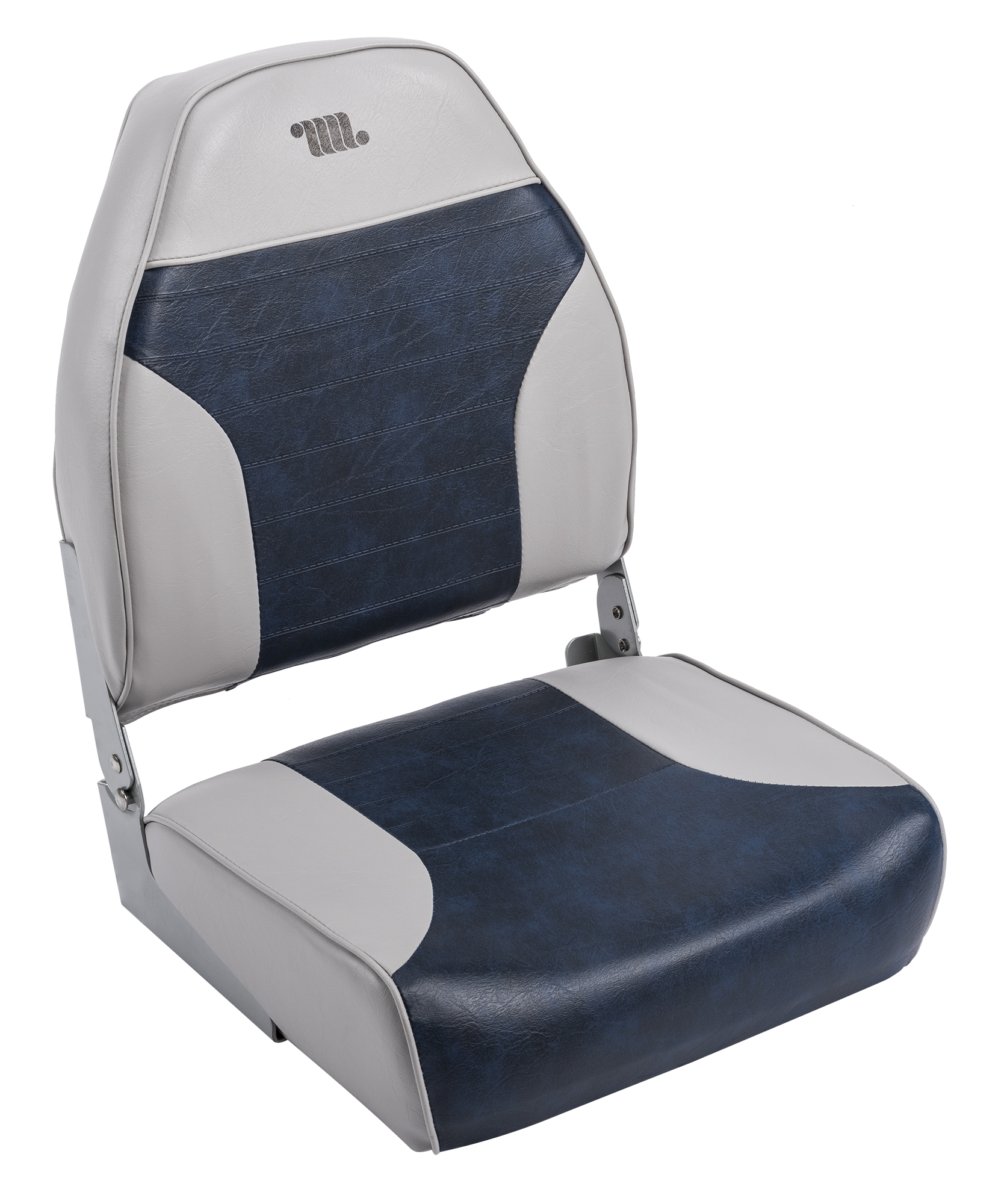 replacement captains chairs for boats hanging chair cushion wise boat seats 8wd588pls 660 standard high back seat grey navy
