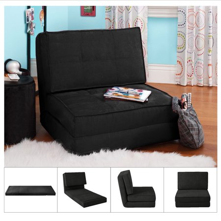 your zone flip chair green glaze desk recliner available in multiple colors walmart com