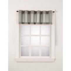 Short Kitchen Curtains Ninja Professional System 1500 Walmart Com 918 Montego Window Curtain Valance Set Of 2