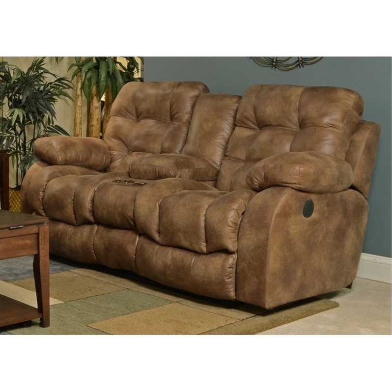 catnapper sofas and loveseats rowe morgan sofa sectionals watson power lay flat reclining console loveseat in almond