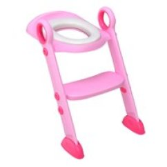 Potty Chair For Girls Dining Table 6 Chairs Seats Walmart Com Product Image Costway Toddler Toilet Training Seat With Sturdy Non Slip Ladder Step Boys